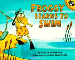 Froggy Learns to Swim book