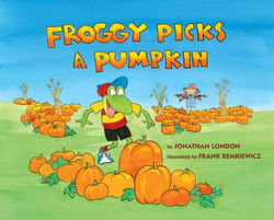 Froggy Picks a Pumpkin book