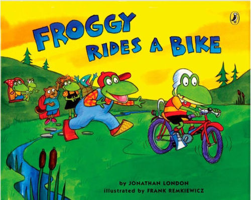 Froggy Rides a Bike book