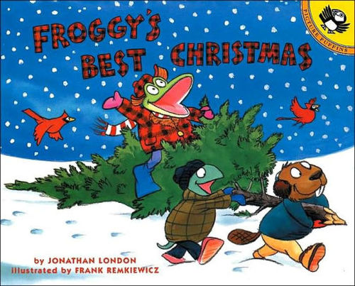 Froggy's Best Christmas book