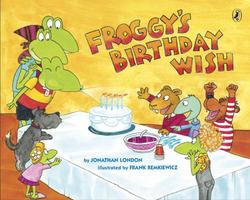 Froggy's Birthday Wish book