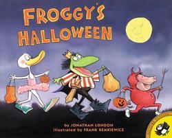 Froggy's Halloween book