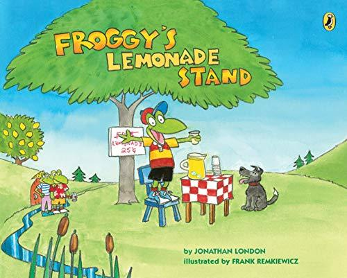 Froggy's Lemonade Stand book