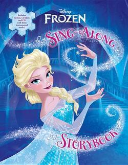 Frozen Sing-Along Storybook book