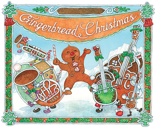 Gingerbread Christmas book