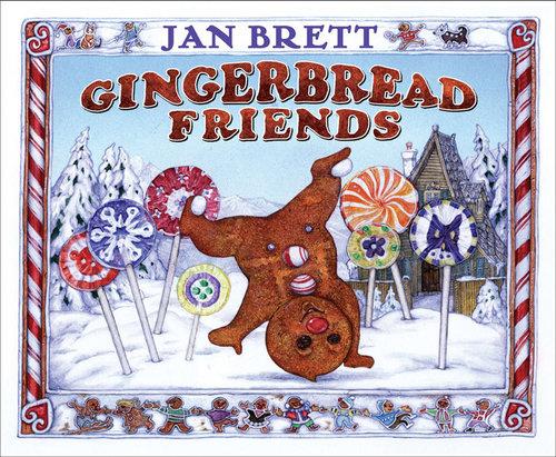 Gingerbread Friends book