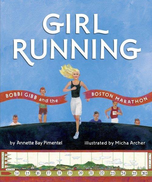 Girl Running book