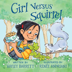 Girl Versus Squirrel book
