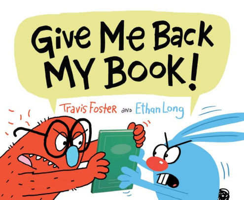 Give Me Back My Book! book