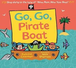 Go, Go, Pirate Boat book