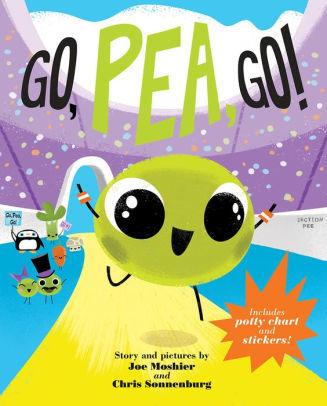 Go, Pea, Go! Book