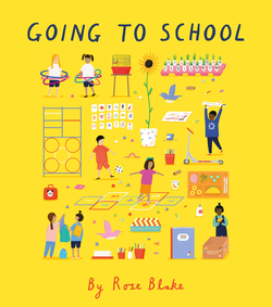 Going to School book