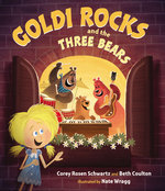 Goldi Rocks and the Three Bears book