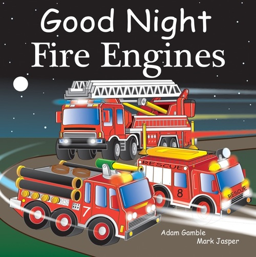 Good Night Fire Engines book
