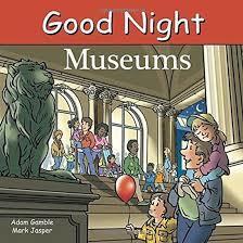 Good Night Museums book