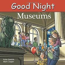 Good Night Museums book