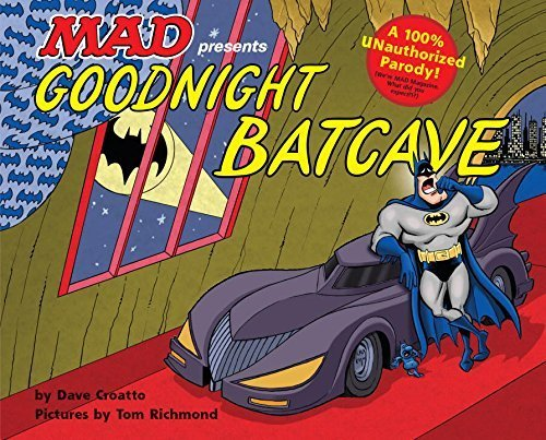 Goodnight Batcave book