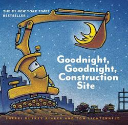 Goodnight, Goodnight Construction Site (Board Book for Toddlers, Children's Board Book) book