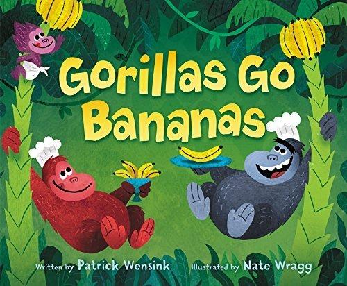 Gorillas Go Bananas book