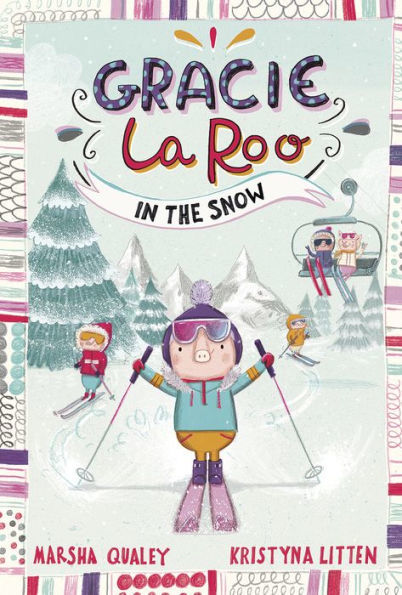 Gracie Laroo in the Snow book