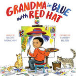 Grandma in Blue with Red Hat book