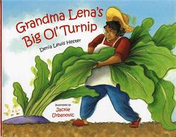 Grandma Lena's Big Ol' Turnip book