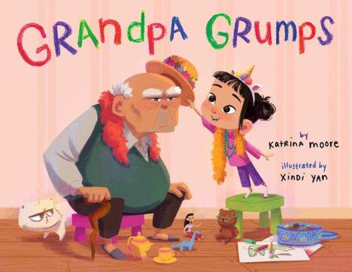 Grandpa Grumps book