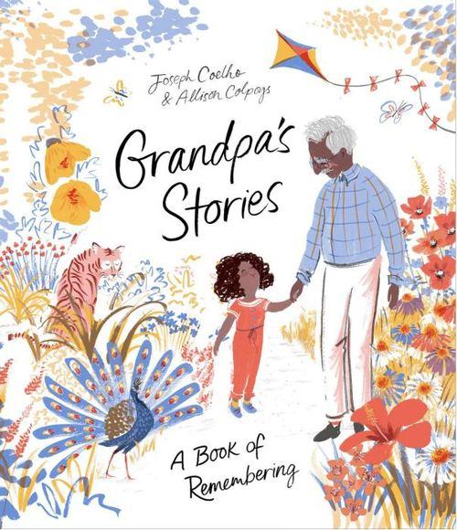 Grandpa's Stories book