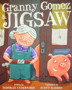 Granny Gomez & Jigsaw book