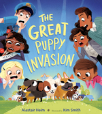 Great Puppy Invasion book