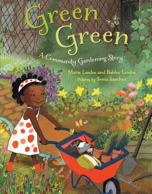 Green Green: A Community Gardening Story book