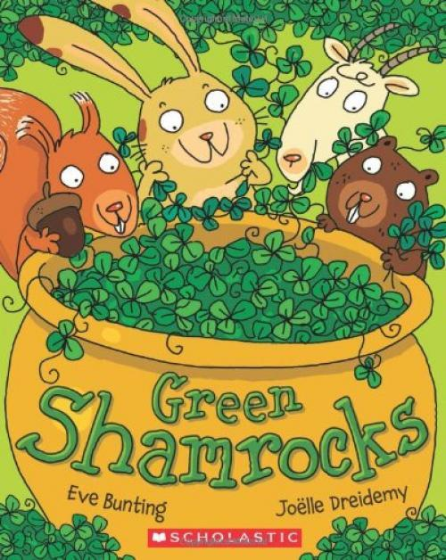 Green Shamrocks book