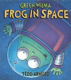 Green Wilma, Frog in Space book