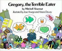 Gregory, the Terrible Eater Book