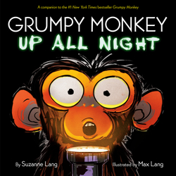 Grumpy Monkey Up All Night book