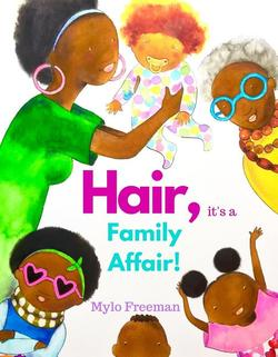 Hair, It's a Family Affair book