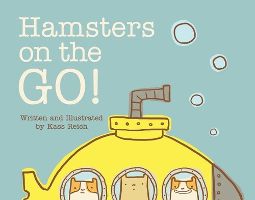 Hamsters on the Go book