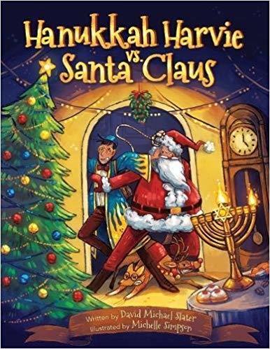 Hanukkah Harvie Vs. Santa Claus book