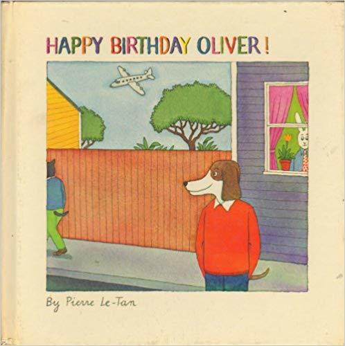 Happy birthday, Oliver! book