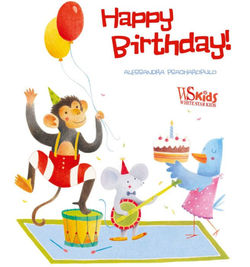 Happy Birthday -Psacharopulo Book