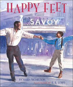 Happy Feet: The Savoy Ballroom Lindy Hoppers and Me book