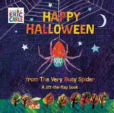 Happy Halloween from The Very Busy Spider book