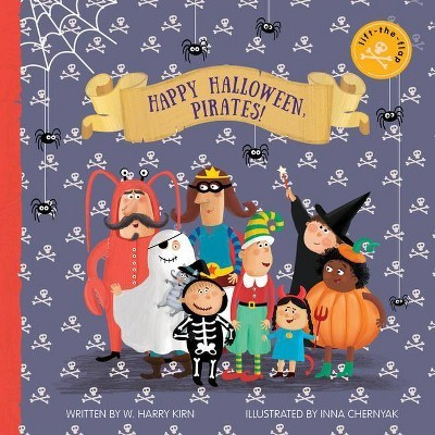 Happy Halloween, Pirates!: Lift-the-Flap Book book
