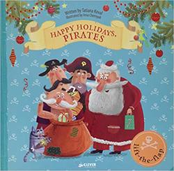 Happy Holidays, Pirates book