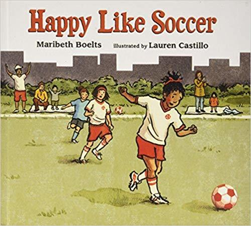 Happy like soccer Book