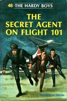 Hardy Boys 46: The Secret Agent on Flight 101 book
