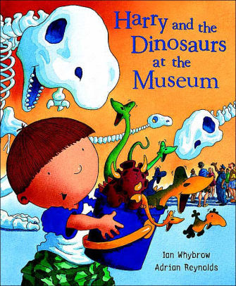 Harry and the Dinosaurs at the Museum book