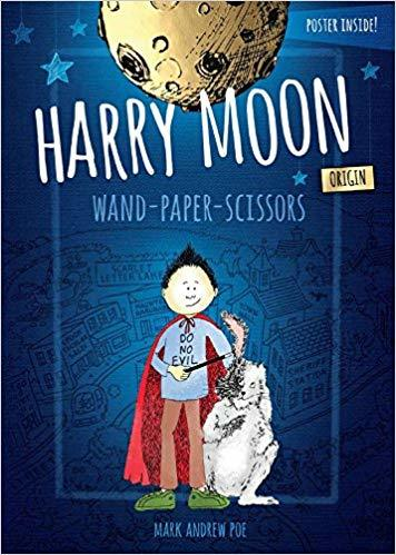 Harry Moon Origin Wand Paper Scissors book