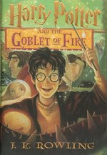 Harry Potter and the Goblet of Fire book