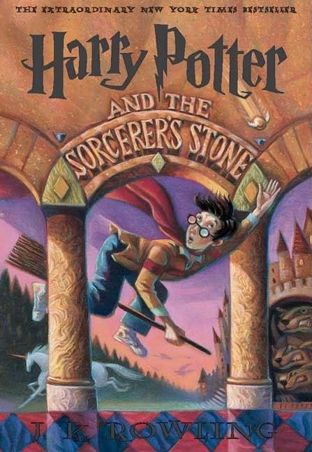 Harry Potter and the Sorcerer's Stone book